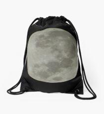 Light in the Darkness...Super Moon Drawstring Bag