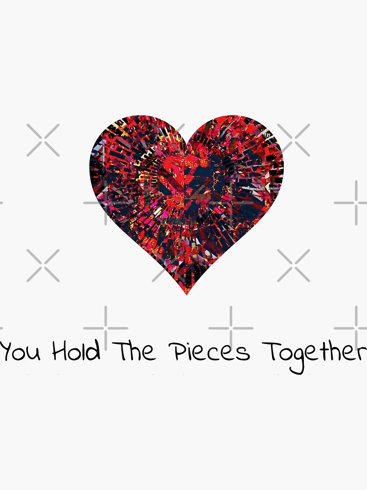 You Hold The Pieces Together by ninjainatux