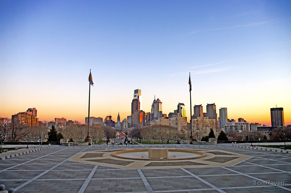 Philly Skyline by TomRaven