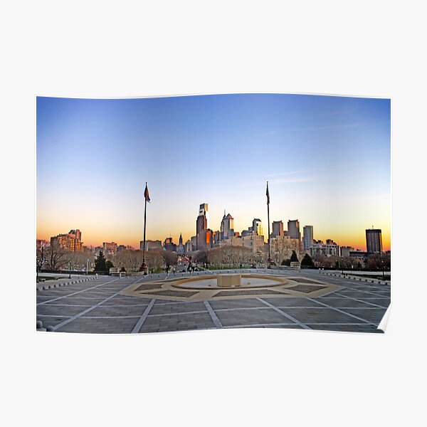Philly Skyline Poster