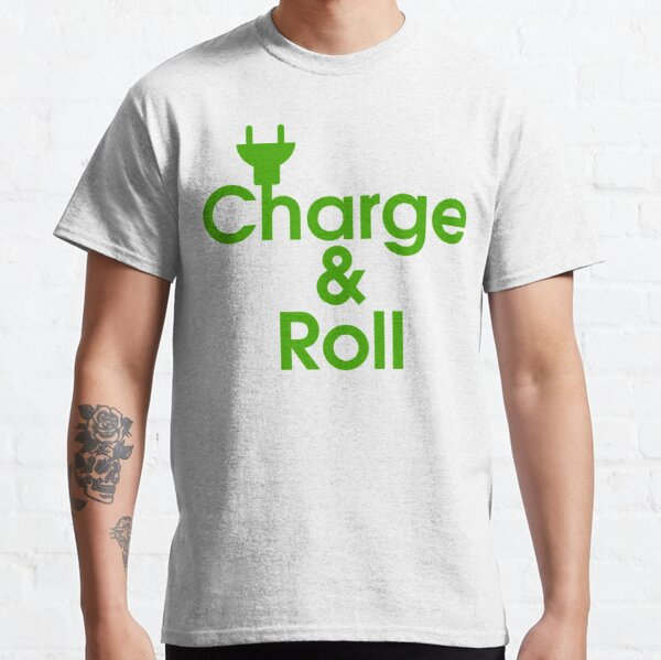 electric car charge & roll v2 Classic T-Shirt