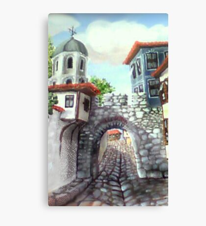Hissar fortress  Canvas Print