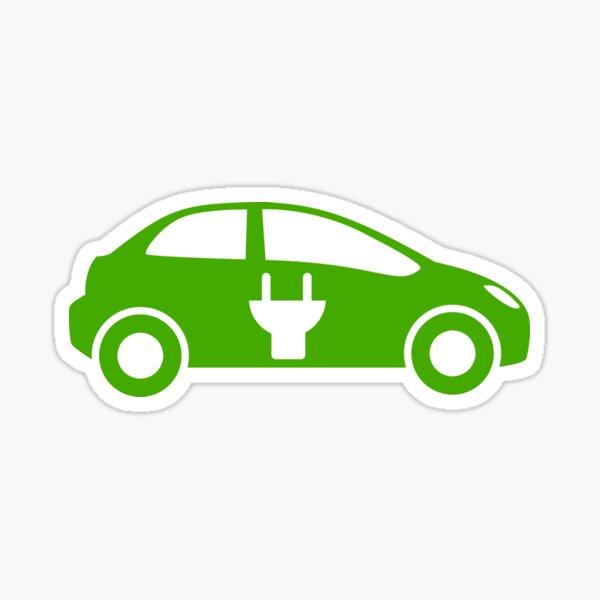 electric car zero plug Sticker