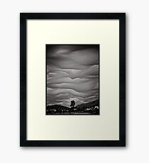 God's brush Framed Print