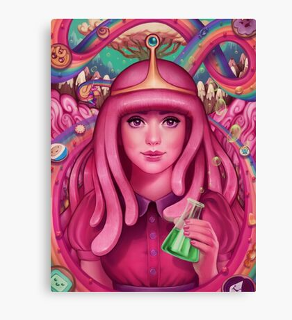She's Got Science!  Canvas Print