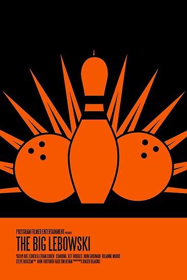 The Big Lebowski Poster by earlofportland
