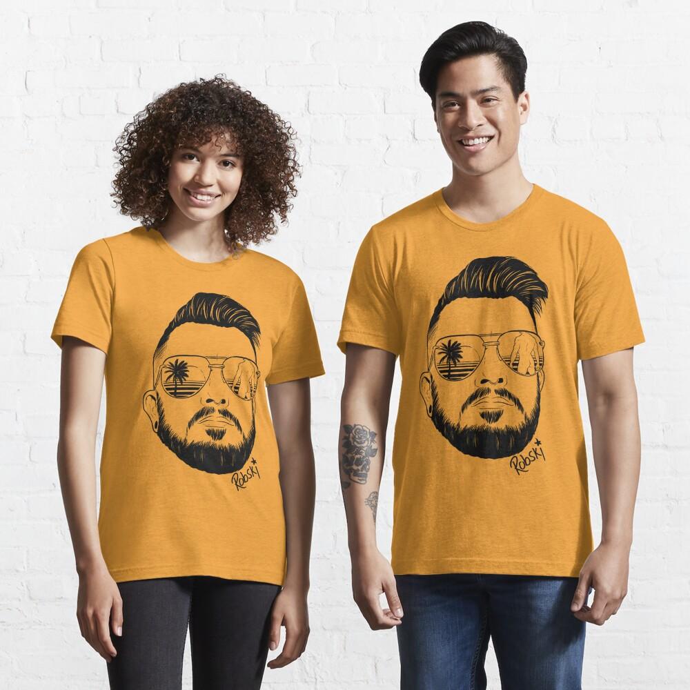 Josh Ginger Beard - black lines Essential T-Shirt