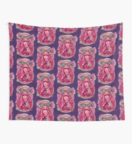 She's Got Science!  Wall Tapestry