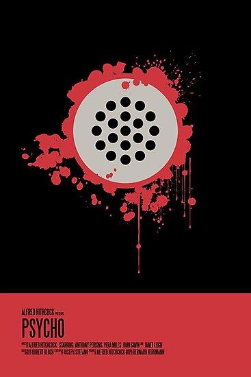 Psycho Poster by earlofportland