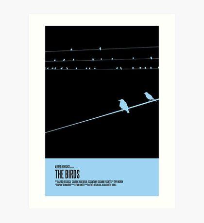 The Birds Poster Art Print