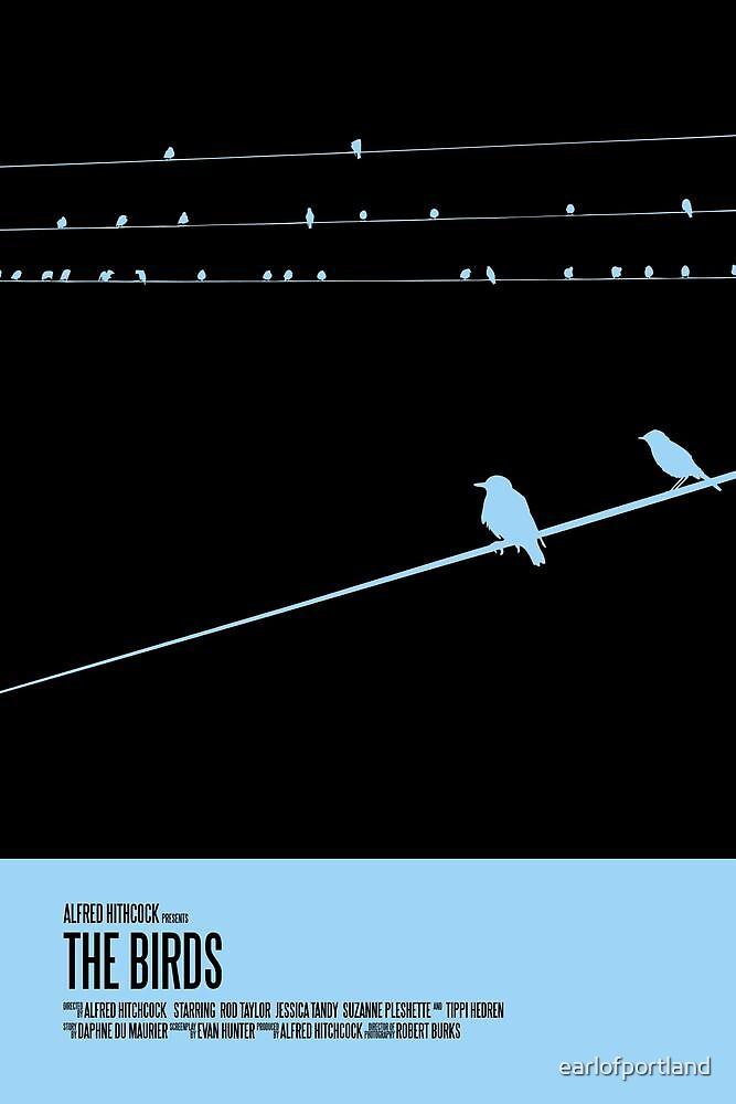 The Birds Poster by earlofportland