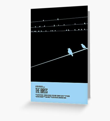 The Birds Poster Greeting Card
