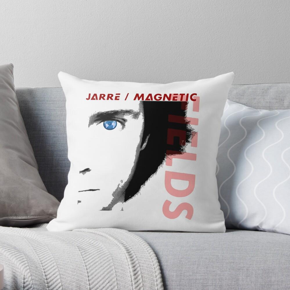 JEAN MICHEL JARRE - MAGNETIC FIELDS Throw Pillow