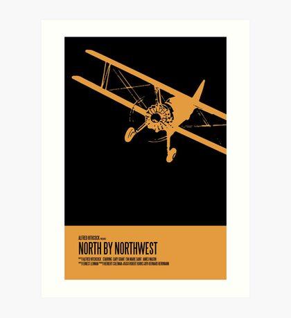 North By Northwest Poster Art Print