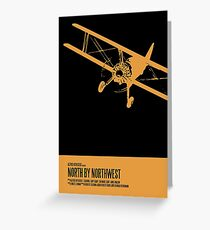 North By Northwest Poster Greeting Card