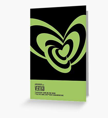 Vertigo Poster Greeting Card