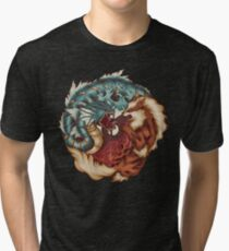The Tiger and the Dragon Tri-blend T-Shirt