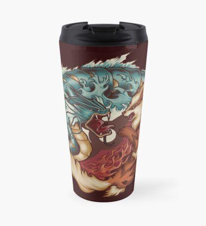 The Tiger and the Dragon Travel Mug