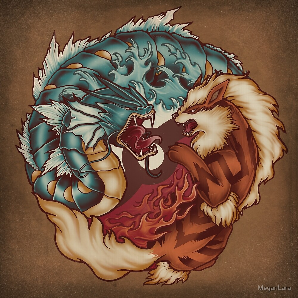 The Tiger and the Dragon by MeganLara