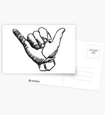 hang loose Postcards