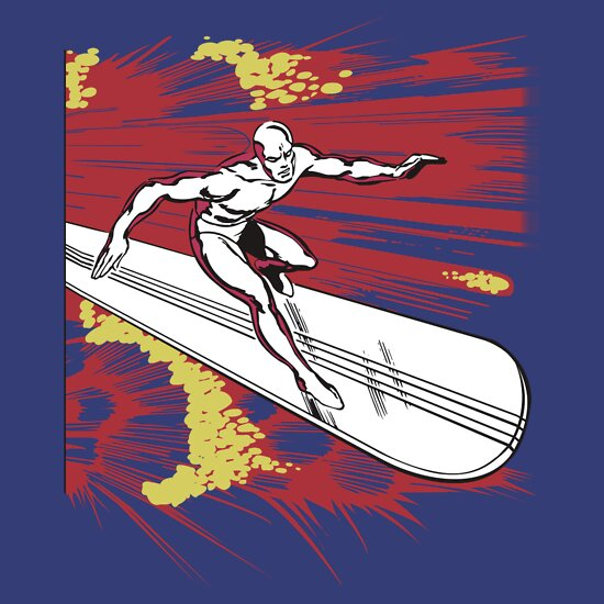 TShirtGifter presents: Surfing With the Alien