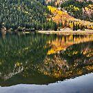 Cottonwood Lake Reflections by Bo Insogna