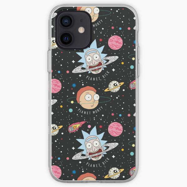 Planètes Rick et Morty Coque souple iPhone