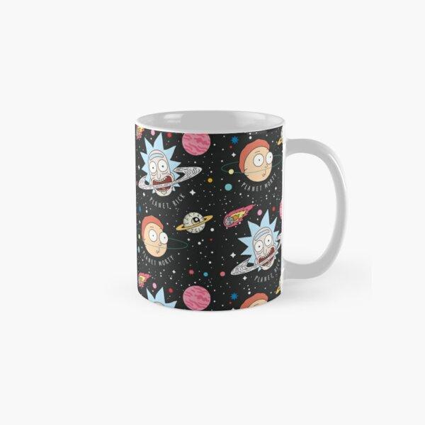 Rick and Morty Planets Classic Mug