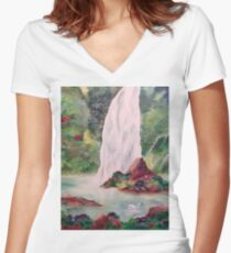Utopia Women's Fitted V-Neck T-Shirt