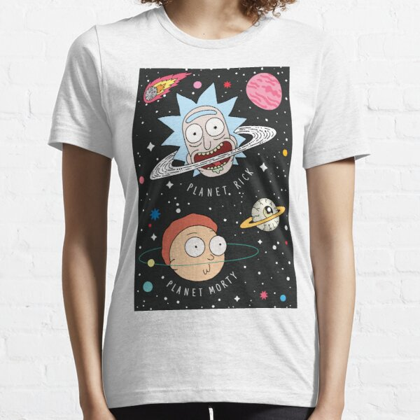 Rick and Morty Planets Essential T-Shirt