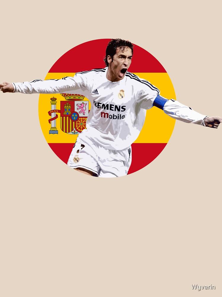 Raúl González - Spain and Real Madrid Legend by Wyverin