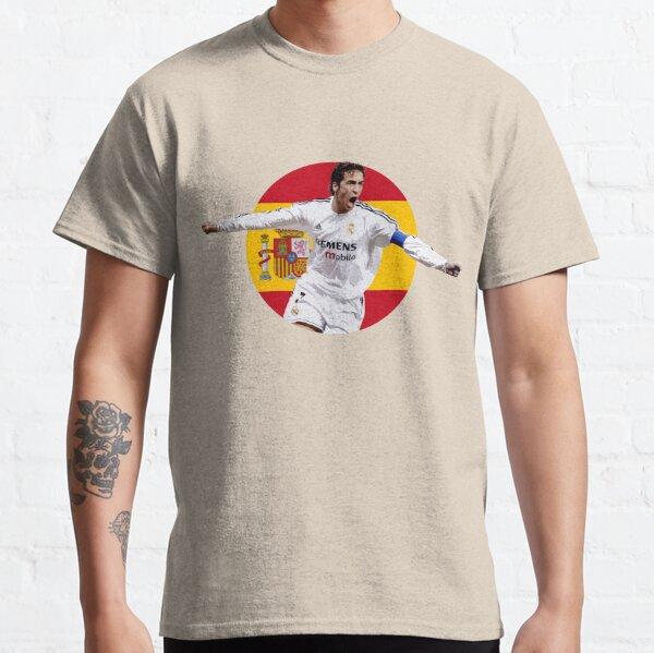 Raúl González - Spain and Real Madrid Legend Classic T-Shirt