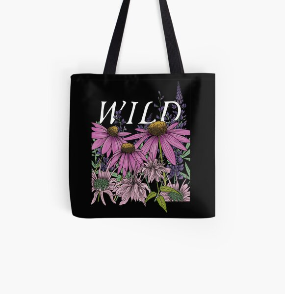 WILD All Over Print Tote Bag