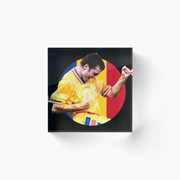 Gheorghe Hagi - Romanian Football Legend Acrylic Block