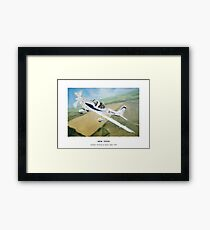 Grob Tutor Aviation Art Framed Print