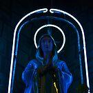 Neon Mary by Federico Del Monte