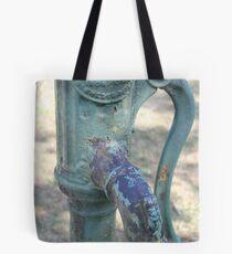 Apple water pump Tote Bag