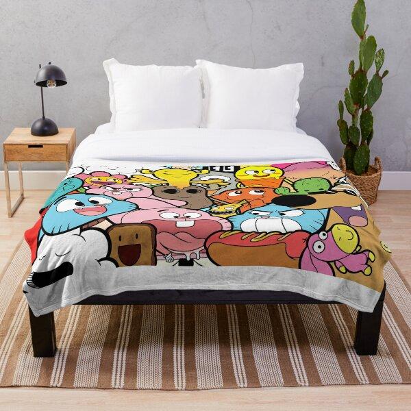 The amazing world of Gumball doodle Throw Blanket