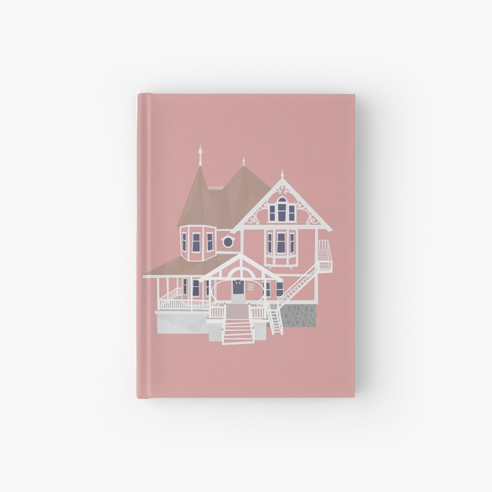 Coraline Pink Palace Hardcover Journal By Andrewmdesign Redbubble