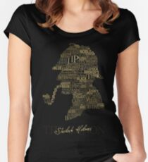 Sherlock Holmes The Canon Women's Fitted Scoop T-Shirt