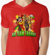 Go Team Troma! Men's V-Neck T-Shirt
