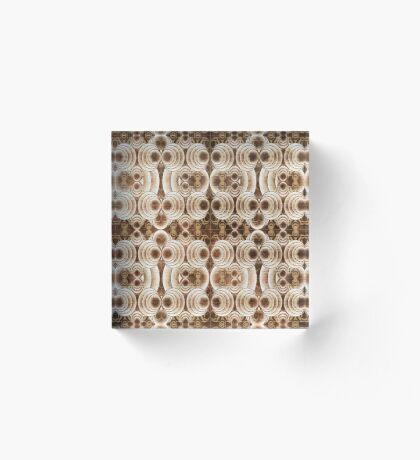 Pattern 16 Acrylic Block
