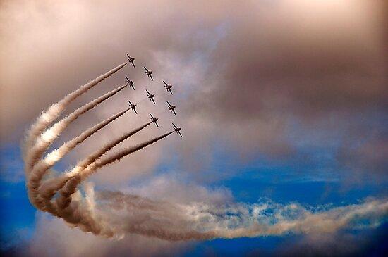 Red Arrows by Simon Marsden