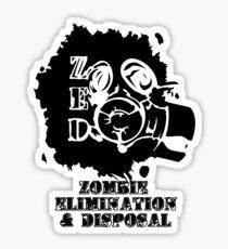 zed corp Sticker