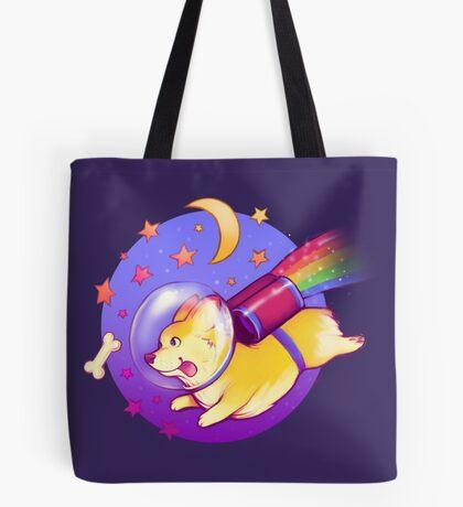 See You Space Corgi Tote Bag