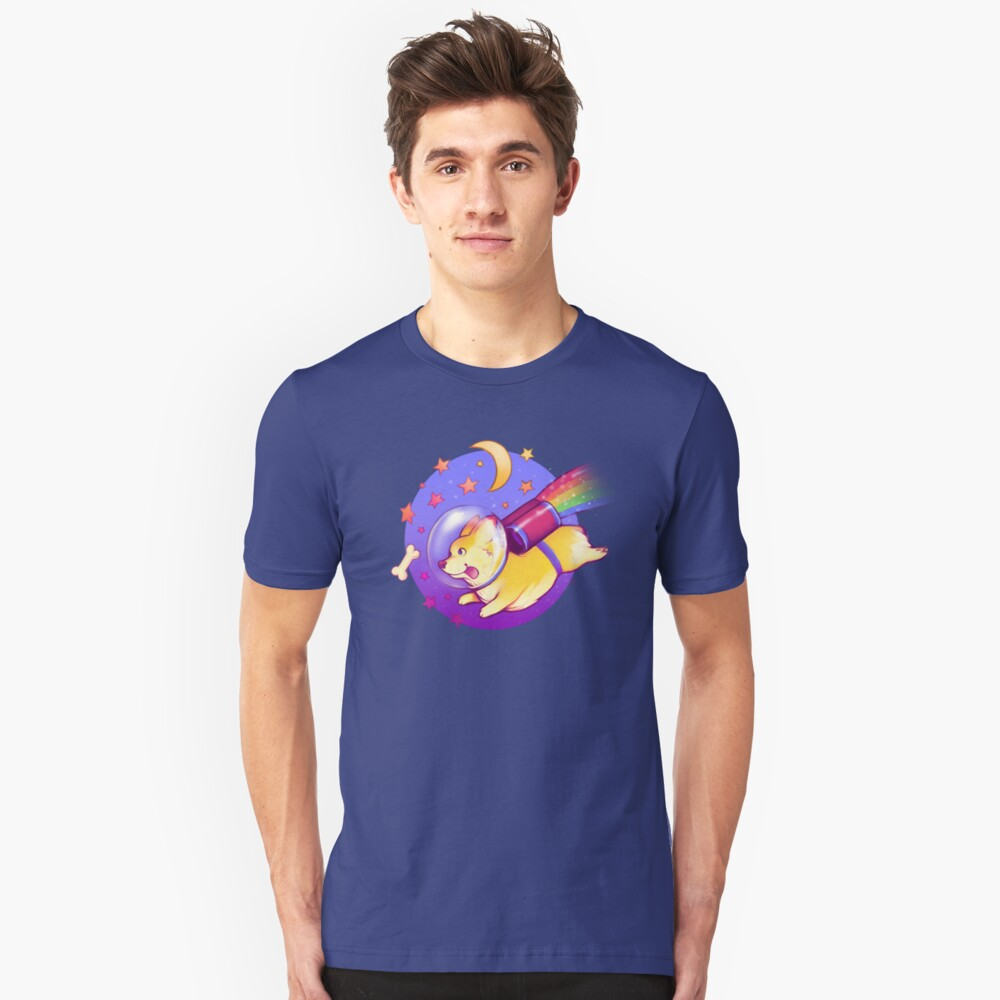 See You Space Corgi Unisex T-Shirt Front