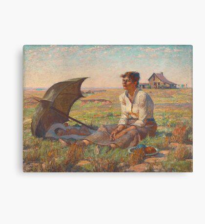 Dakota Woman Canvas Print