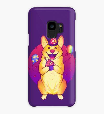 Birthday Corgi! Case/Skin for Samsung Galaxy
