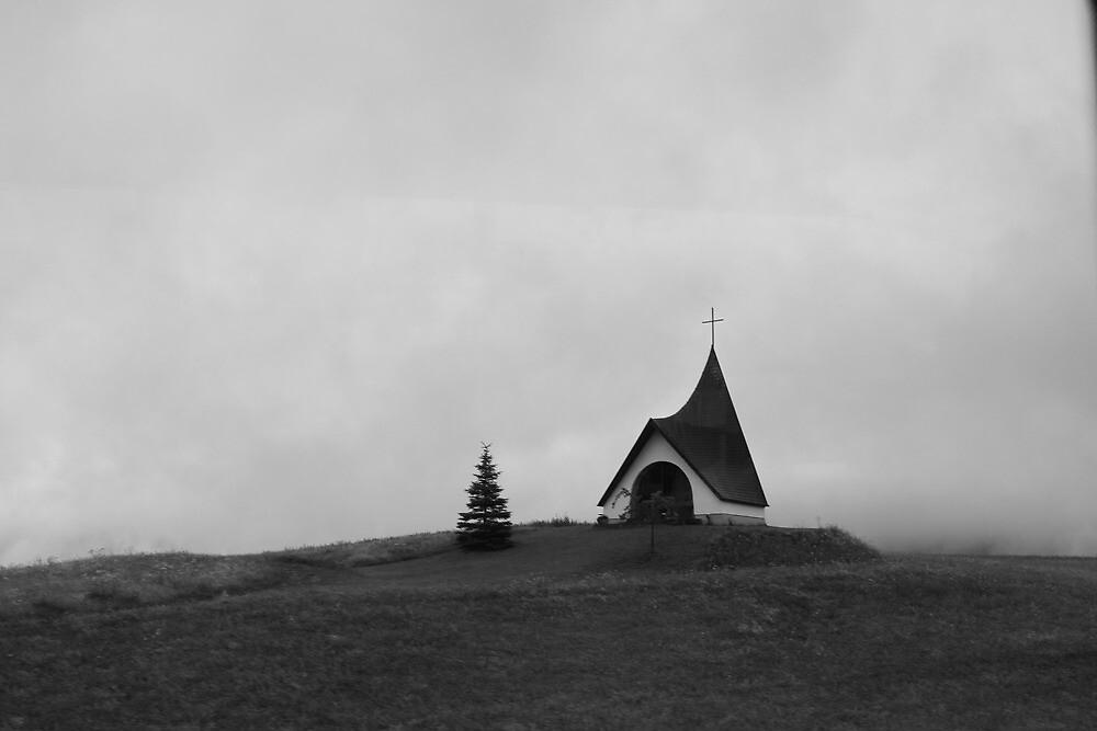Desolate Church by AndrewWilson94