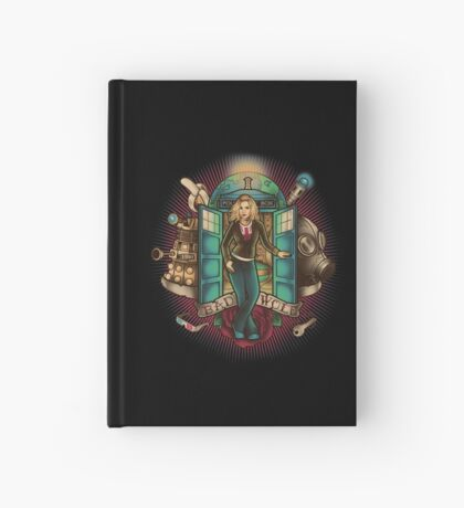 I Am The Bad Wolf Hardcover Journal